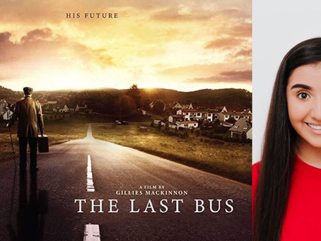 AALIYAH CAST IN '' THE LAST BUS'' ALONGSIDE Timothy Spall