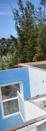 Unfinished Roofing Project
