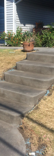 Finished Concrete Staircase