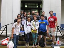 foto grupo camino a expedicion a ventanas Junio 2012