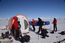 Preparativos para expedición