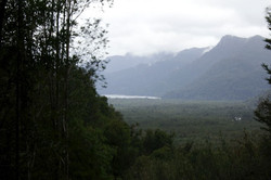 A Lake near the Calbuco