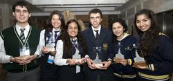 1st place Feria Antartica Escolar 2012
