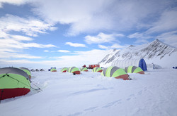 Campamento Glaciar Unión