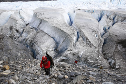 Descenso al Glaciar Grey