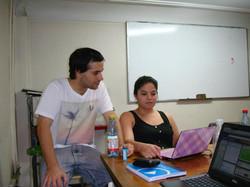 JP y Carla Nanolab en Vicuña 2012