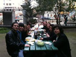 almorzando en Vicuña 2012