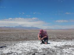 Dr. Eduardo Castro -Salar de Atacama