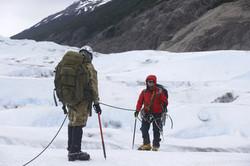 Caminata en hielo, Glaciar Grey