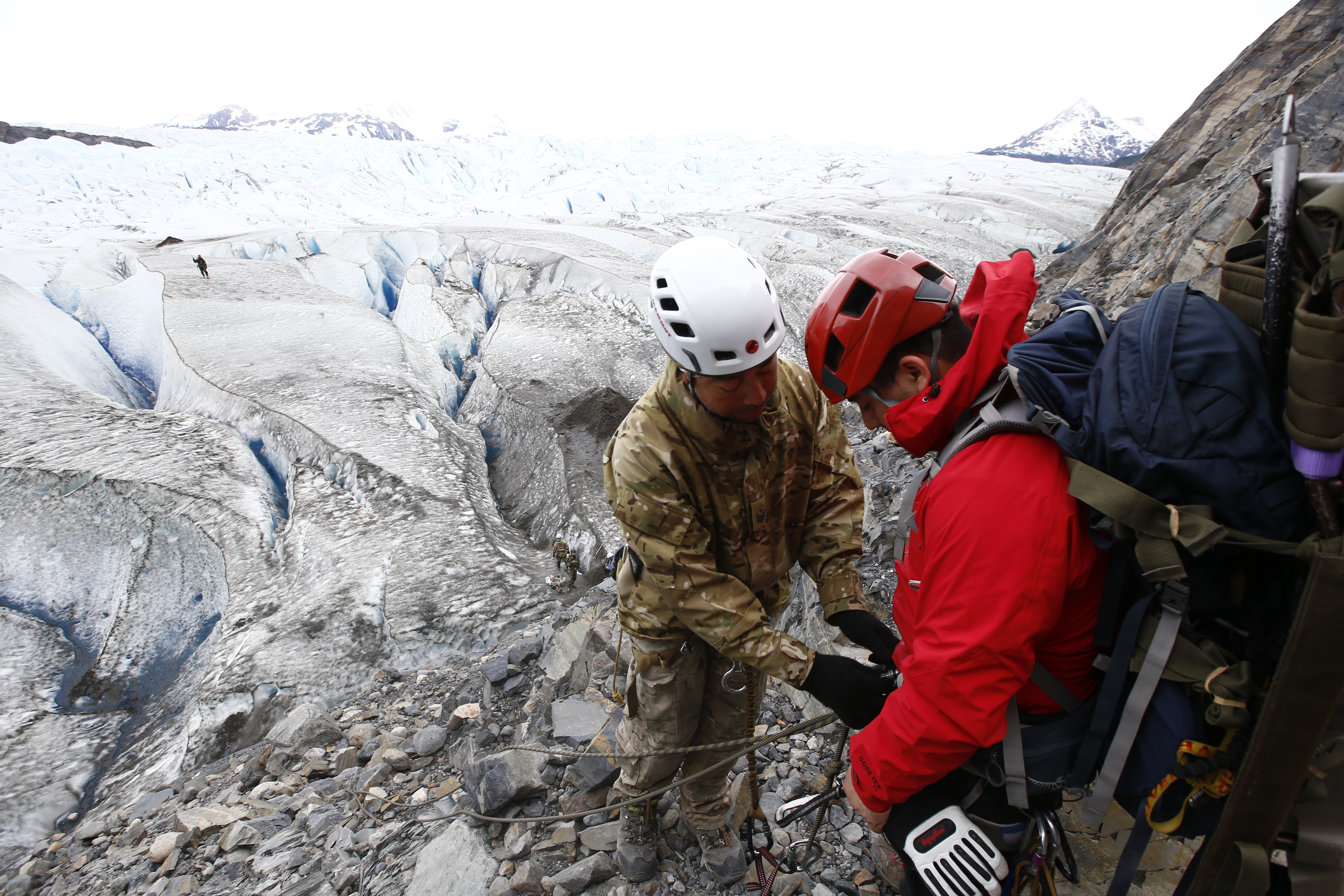 Descenso al Glaciar Grey
