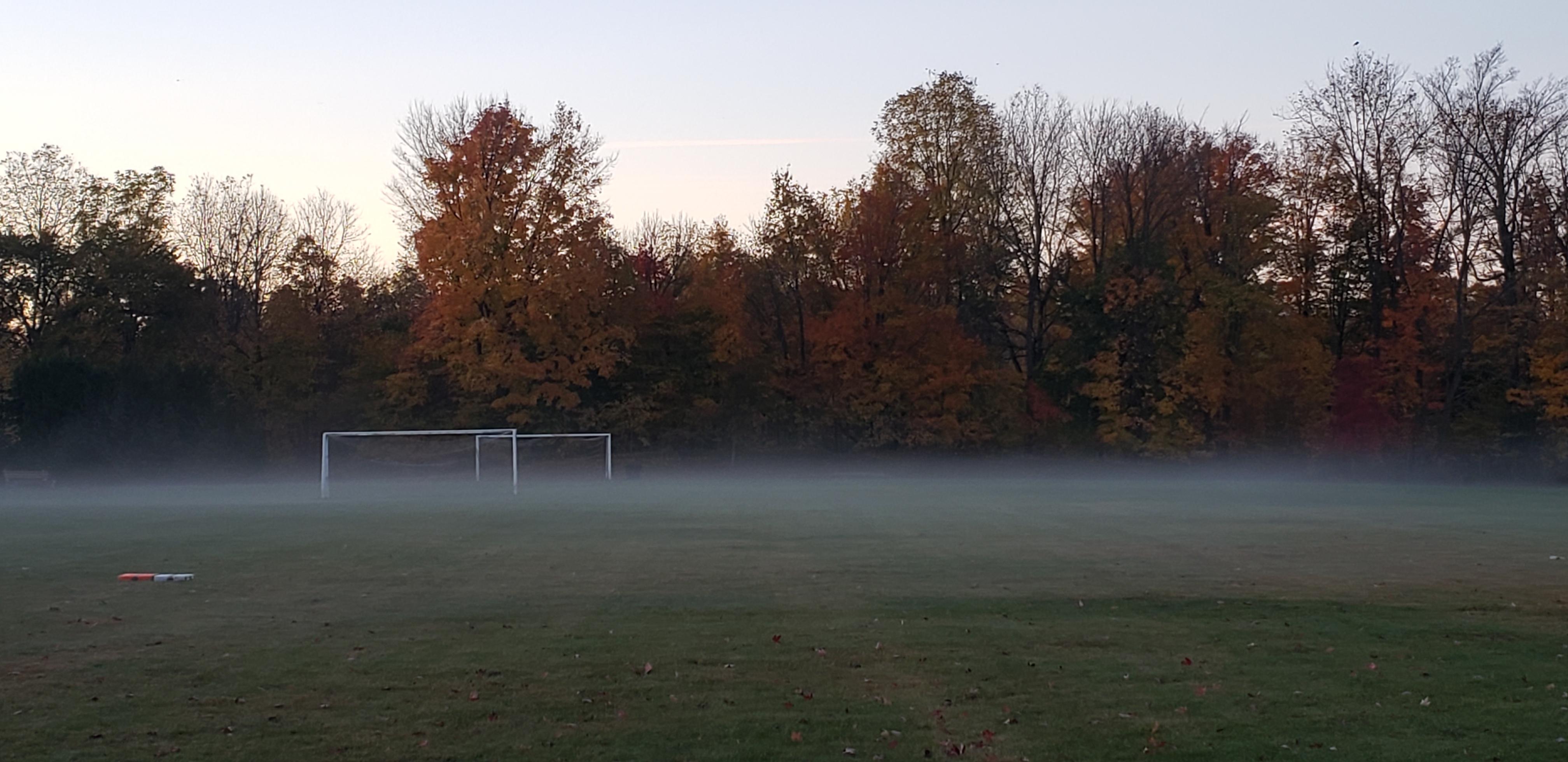 Misty Playing Field