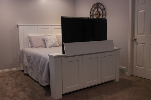 The Hartford TV Bed Is A Beautiful Classic Styled Lift Footboard With Twist Of Modern To Add Style Any Room In Your Home