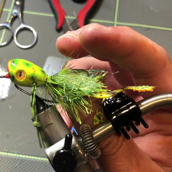 Weedless Froggy Spring Action