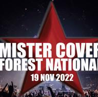 Mister Cover fête ses 20 ans à Forest National le 19/11/22