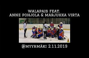 Walapais feat. Anne Pohjola ja Marjukka