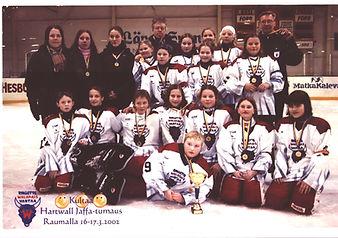 Walapais, Hartwall Jaffa-turnaus Raumall