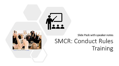 Conduct Rules Training