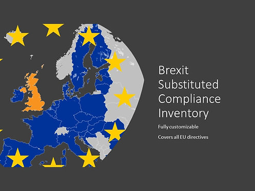 Brexit Substituted Compliance Inventory