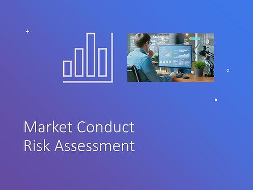 Market Conduct Risk Assessment