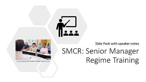 Senior Manager Regime Training