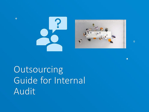 Outsourcing: A Guide for Internal Audit