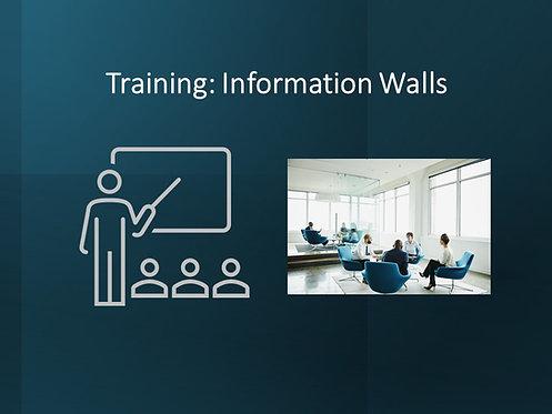 Information Walls Training Slides and Script