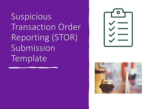 STOR Submission Template