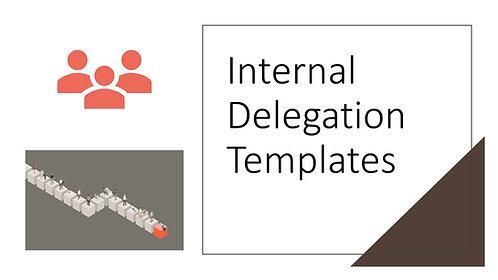 Internal Delegation Templates