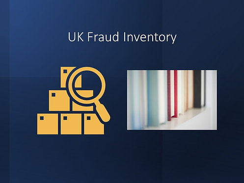 UK Fraud Laws Inventory
