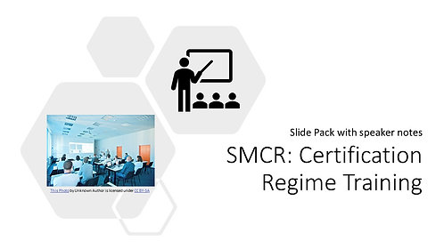 Certification Regime Training