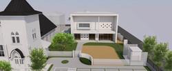 登録有形文化財日本基督教団一関教会 社会福祉法人希望の光 睦保育園