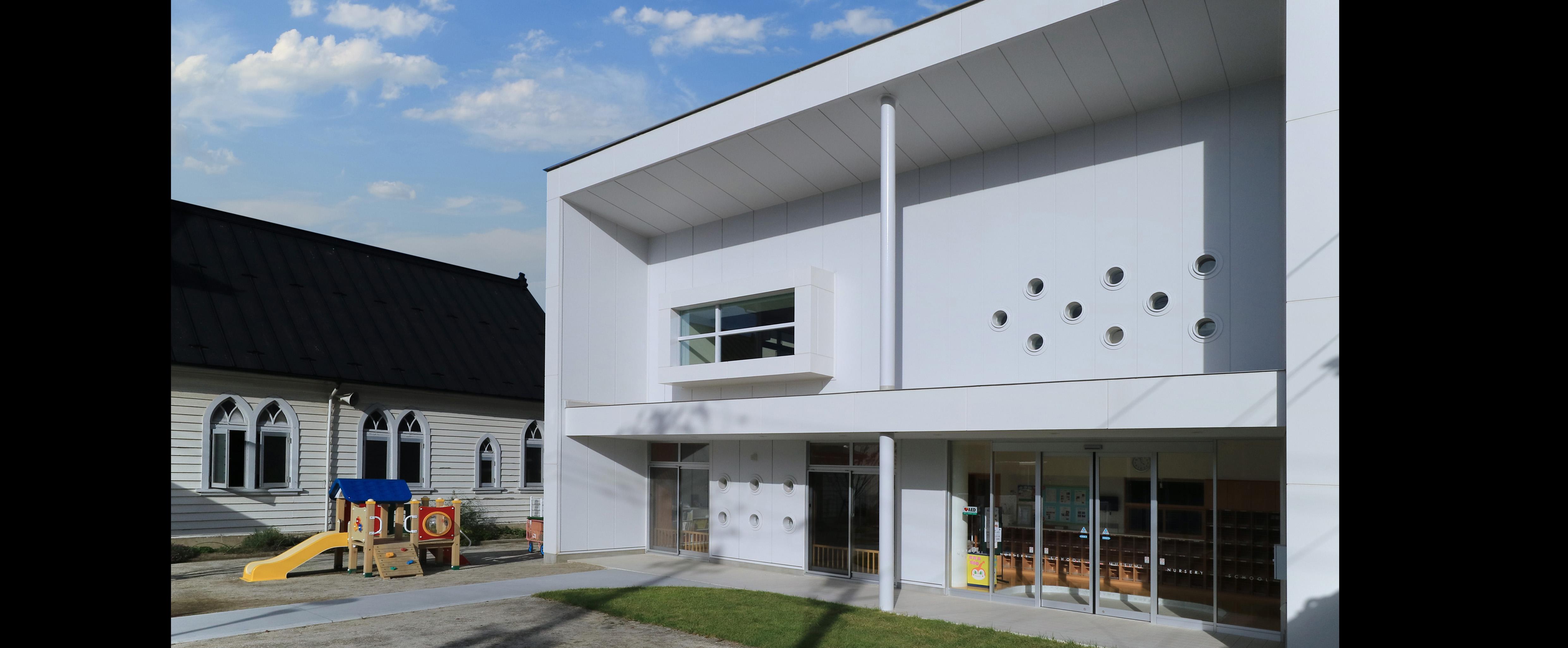 登録有形文化財日本基督教団一関教会|社会福祉法人希望の光 睦保育園