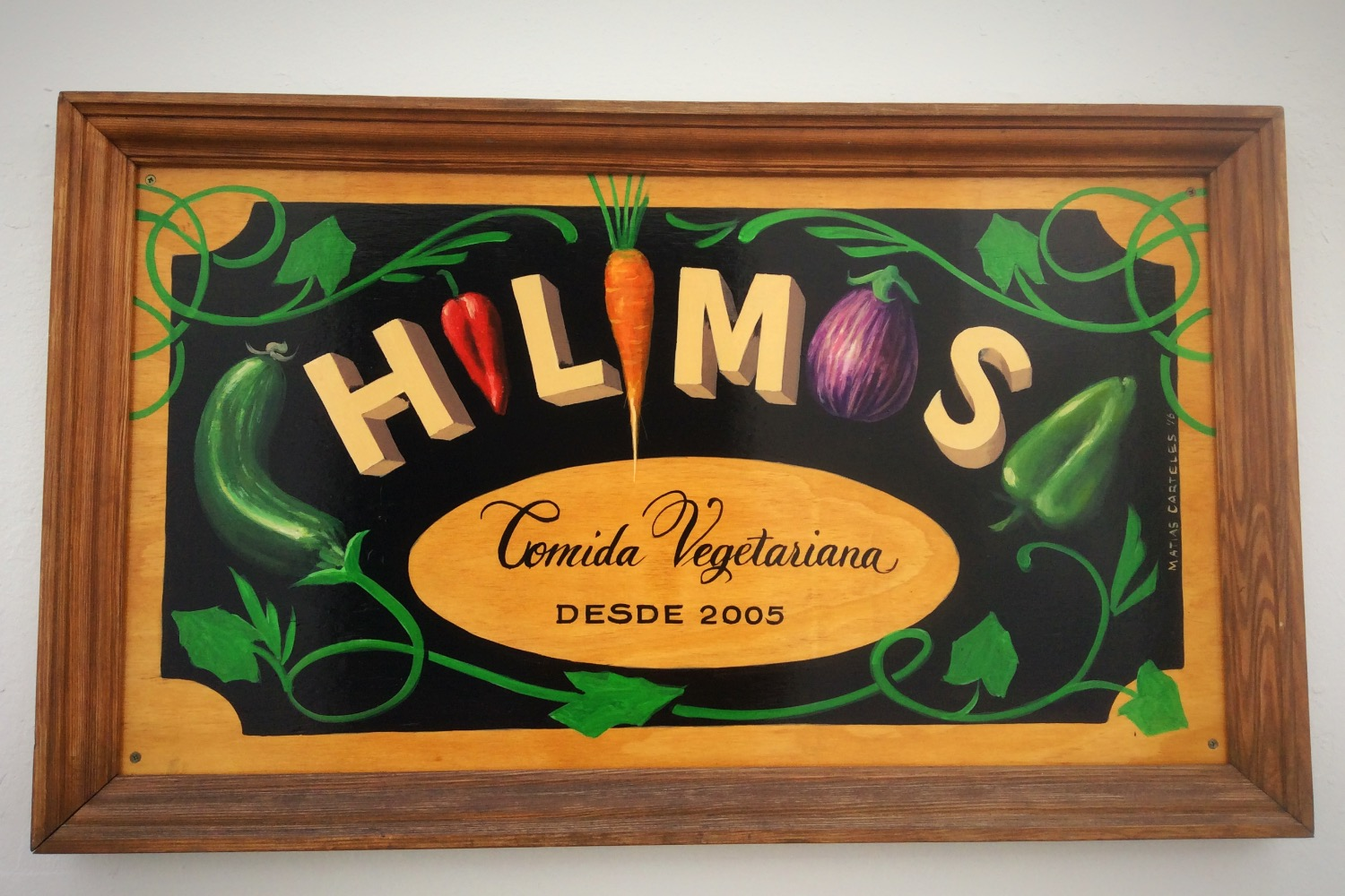Chilimosa Sign