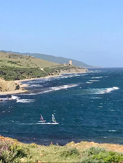 Wild windsurf spots