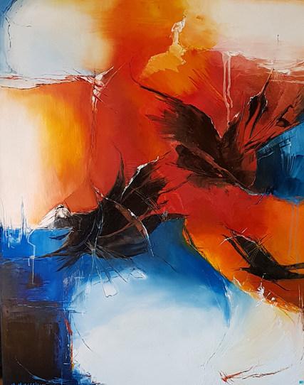 kleuren en kreten (1) 100x80
