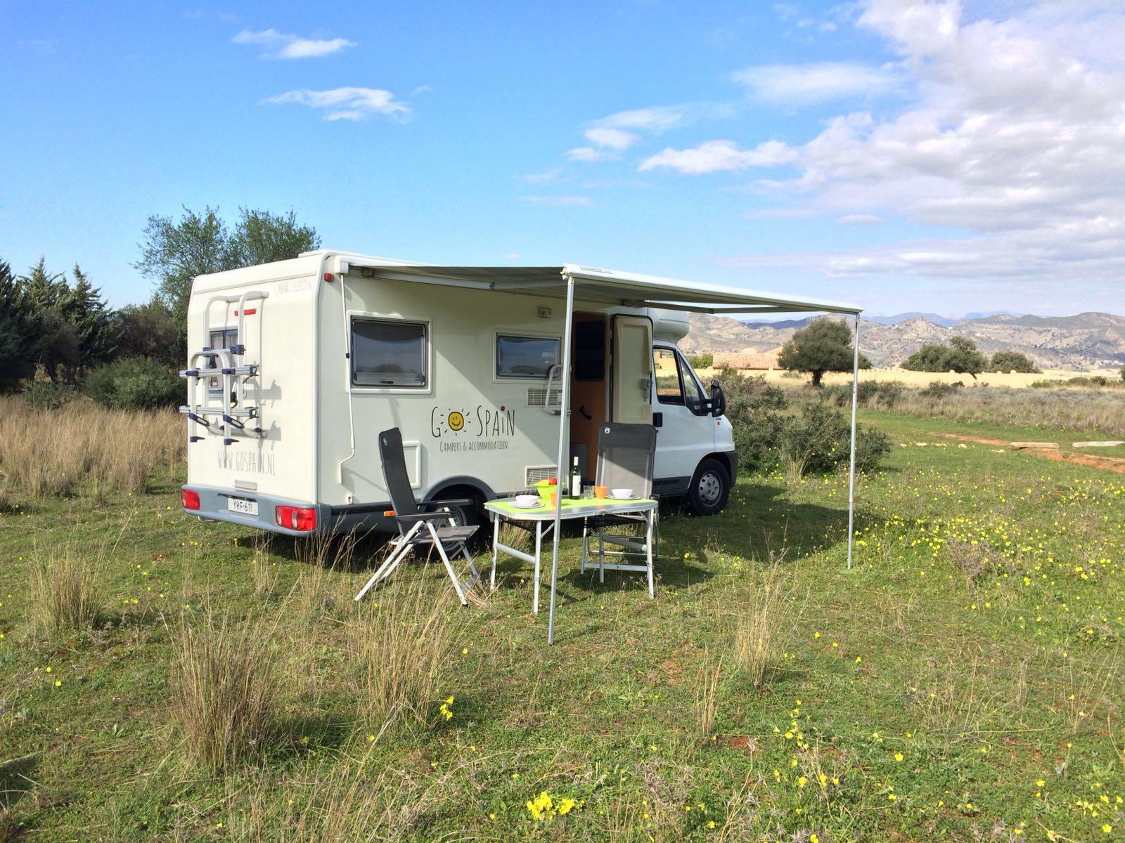 camper-huren-Spanje
