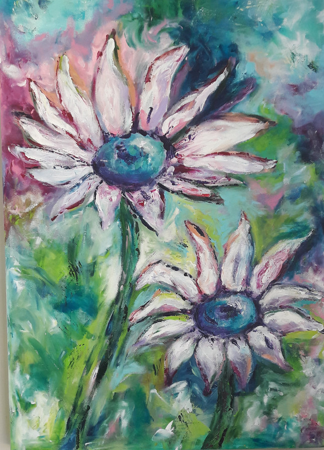 het bloemenpaar