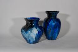 Gotas blauw buikvazen