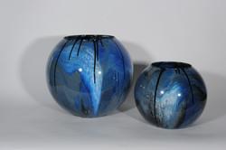 Gotas blauw bolvazen