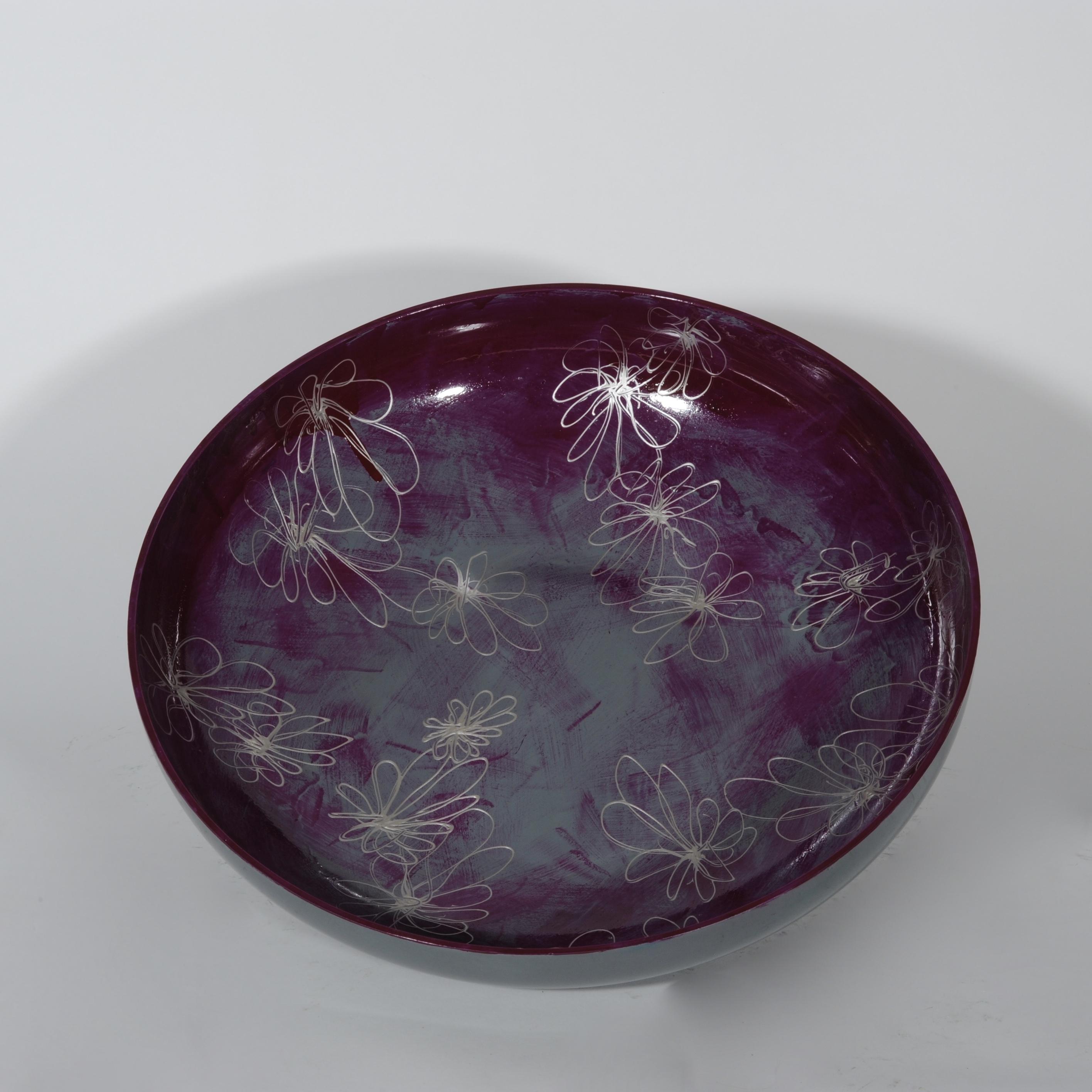 Grisea lila schaal