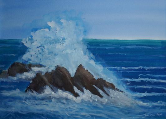 3  Schuim der zee
