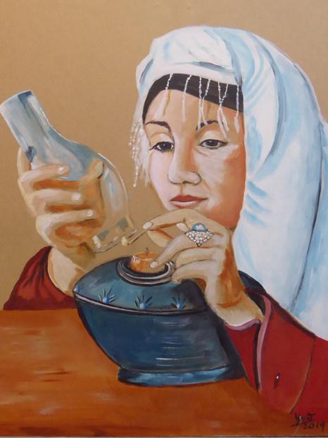 arabische vrouw