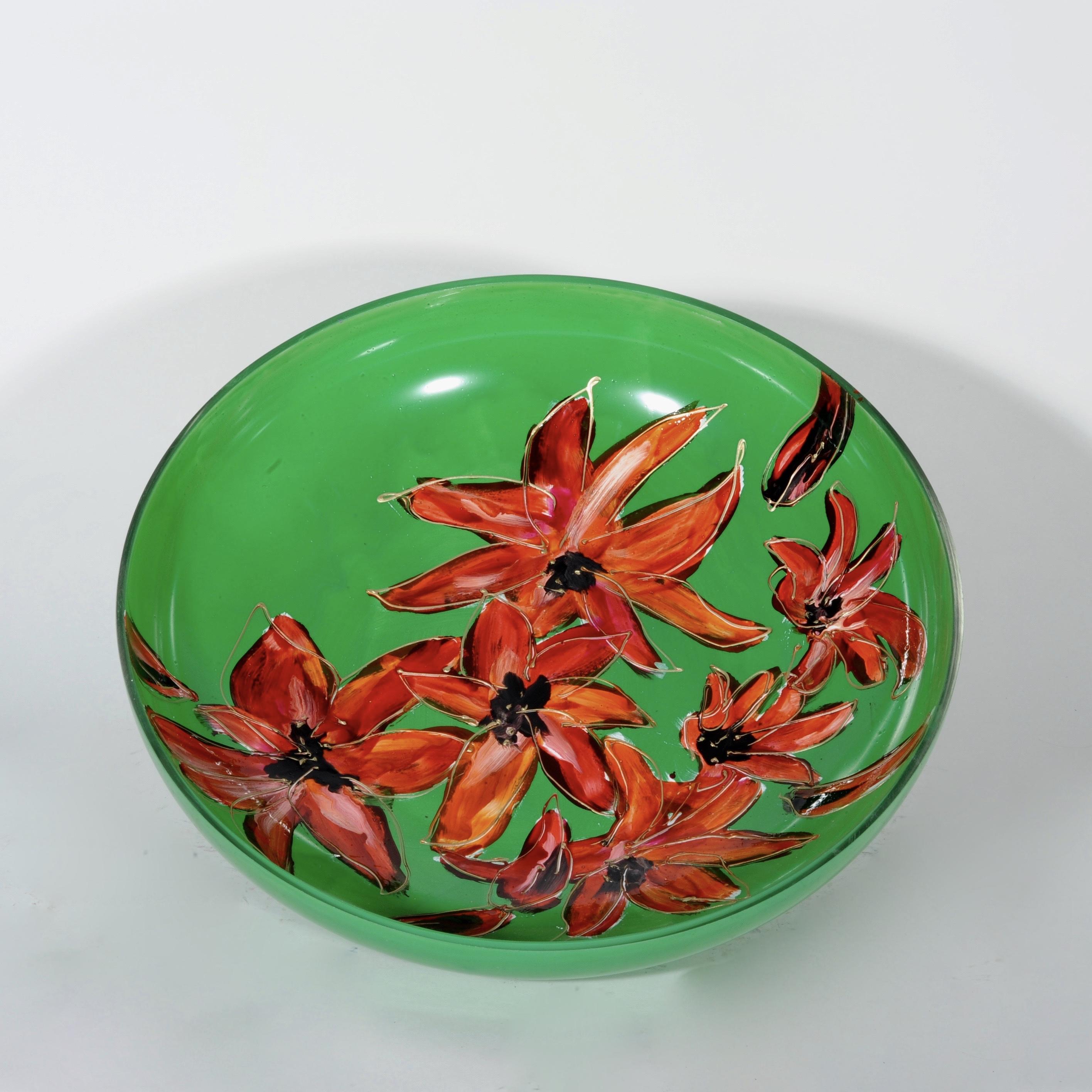 Lily groen schaal