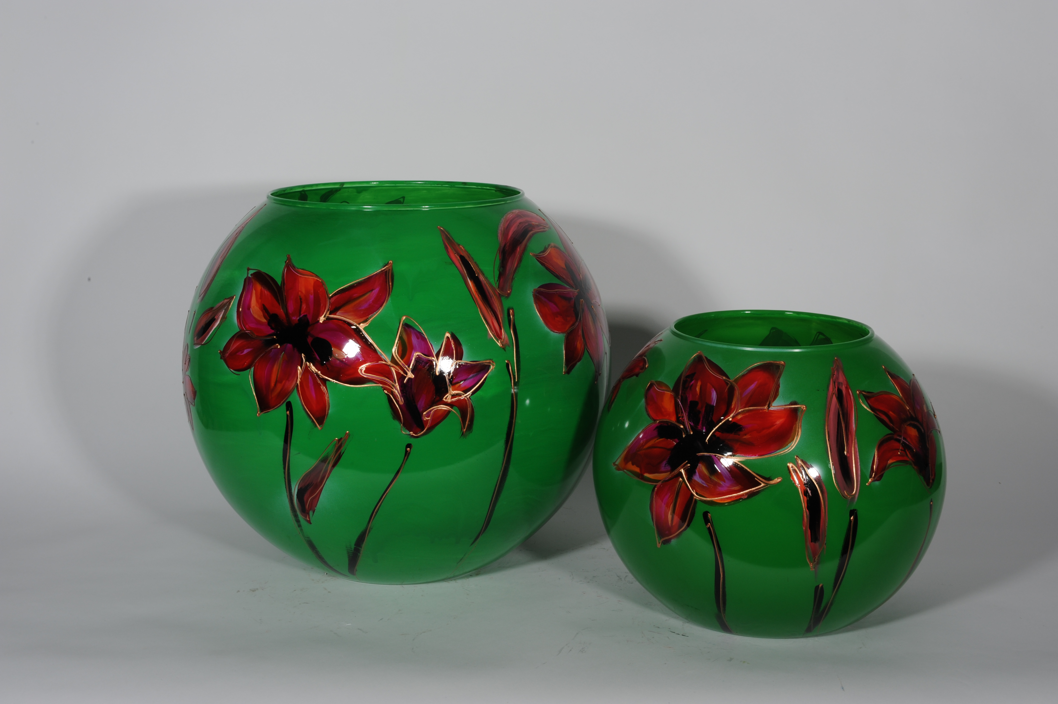 Lily groen bolvazen