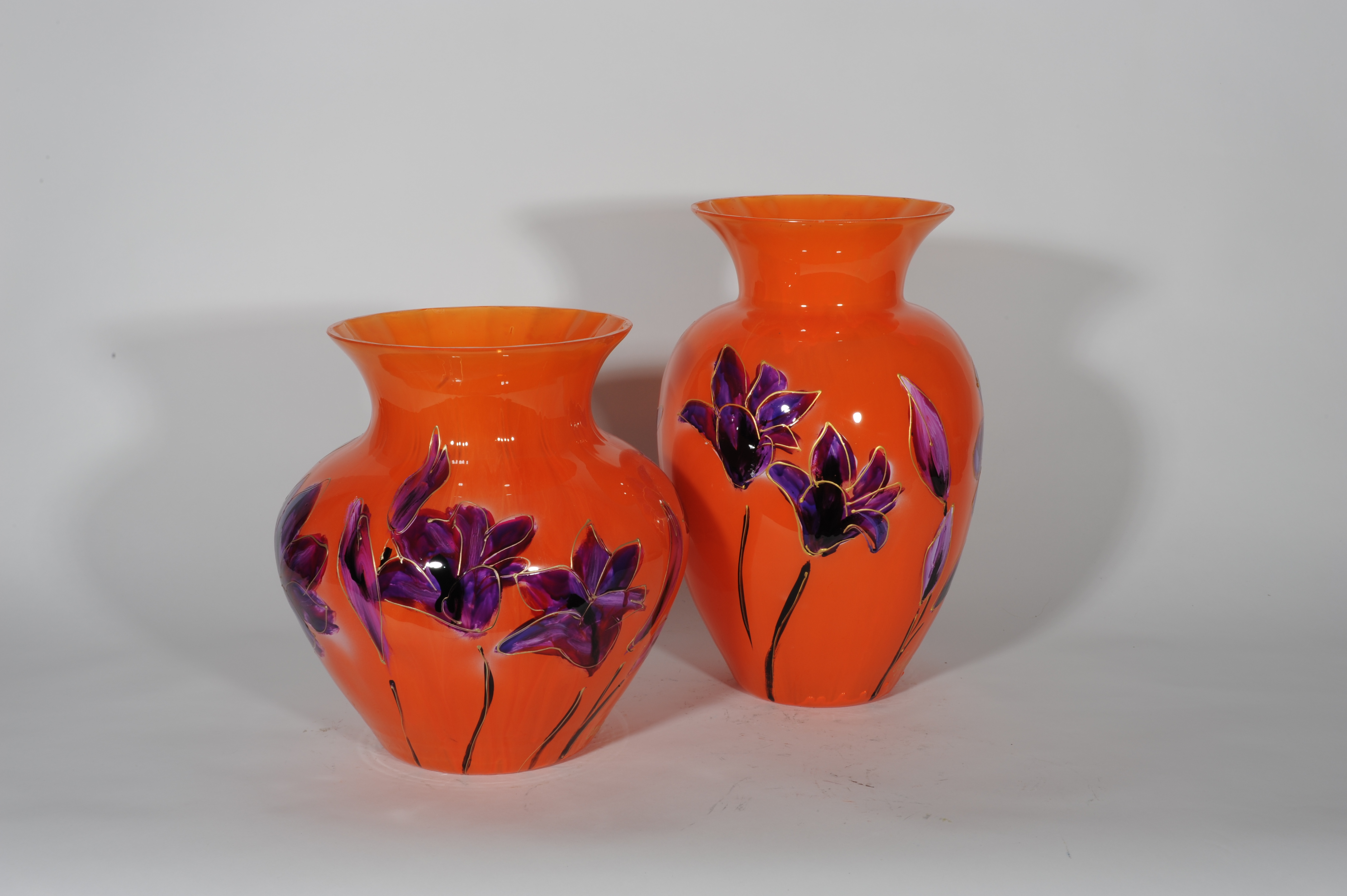 Lily oranje buikvazen