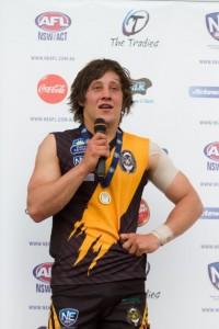 Kaine Stevens joining West Adelaide next season.
