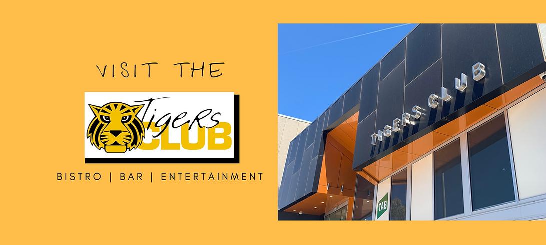 Tigers Club Website Image main entrance