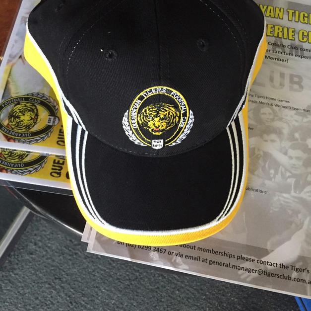Tigers Black Cap