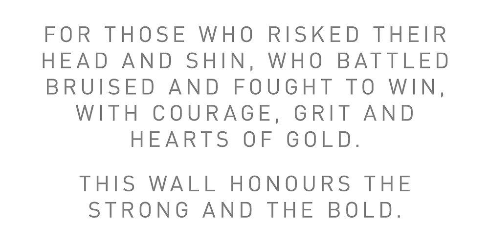 Intro to Wall of Fame