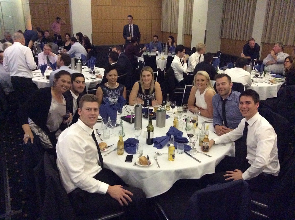 Tigers and Tigerettes all dressed to the nines for the AFL Canberra Gala Presentation night